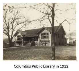 Columbus Public Library in 1912