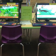 early learning computer stations