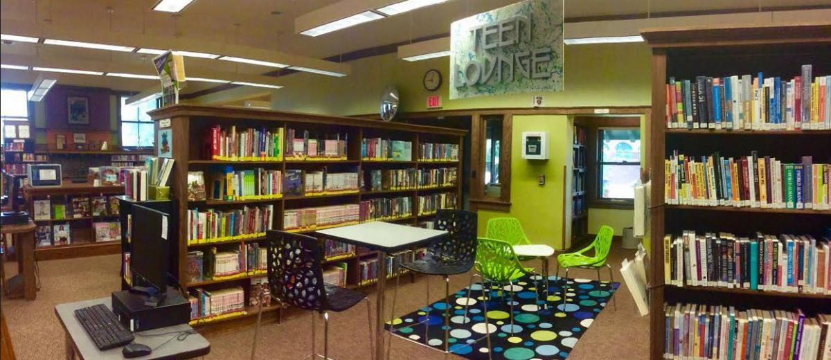 our teen space